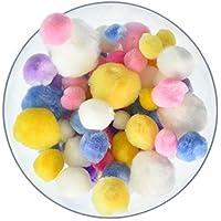 Pepperell - pon pon decorativi assortiti a 300 colori pastello. d71718e3325c