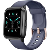YAMAY Smartwatch,Fitness Armbanduhr mit Blutdruck Messgeräte,Pulsoximeter,Pulsuhren Fitness Uhr Wasserdicht IP68 Fitness…