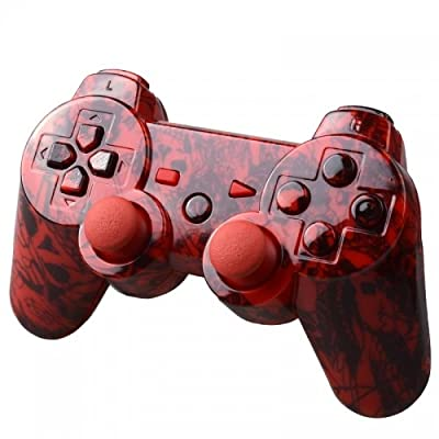 Playstation 3 Controller - Red Ed Hardy