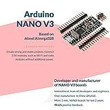 SLB Works Robotdyn Nano V3 Atmega328/Ch340G, Micro-USB, Pin Headers Not Soldered, Com C4M6