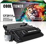 Cool Toner Compatible pour HP 81A CF281A 81X CF281X Toner pour HP Laserjet Pro MFP M604 M605 M606 M630 Series Toner, Noir, 11000 Page