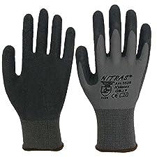 Der NITRAS Nylotex Nylon-Latexhandschuh 3520 überzeugt durch seine sehr gute Abriebfestigkeit und dem hohem Tragekomfort. Der nahtlose Handschuh ist teilbeschichtet mit Latex auf Innenhand und Fingerkuppe. Zudem liegt er perfekt an der Hand an und...