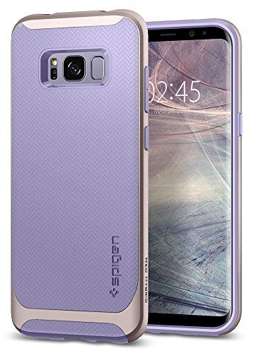 Spigen Neo Hybrid Samsung Galaxy S8 Hülle (565CS21596) 2-teilige Handyhülle mit Modischem Muster TPU Schale und PC Rahmen Schutzhülle Case (Violet)
