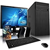 "VIBOX Work Station Desktop PC Package 11 - with Windows 10 Operating System, WarThunder Game Bundle, 22"" Monitor, Speakers, Keyboard & Mouse (4.0GHz AMD FX Eight Core Processor, 2TB Hard Drive, 16GB RAM)"