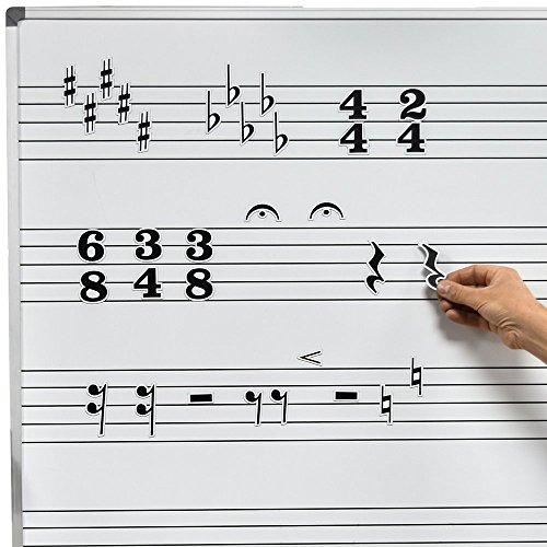 chamberlain-musica-wmn20-pizarra-blanca-magnetica-de-musica-simbolo-para