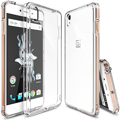 OnePlus X Hülle, Ringke FUSION kristallklarer PC TPU Dämpfer (Fall geschützt/ Schock Absorbtions-Technologie) für das OnePlus X - kristallklarer