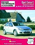 Rta 692.1, Opel Corsa C : Essence et diesel 1.2 / 1.3 CDTI du 08/03 à fin de fabrication
