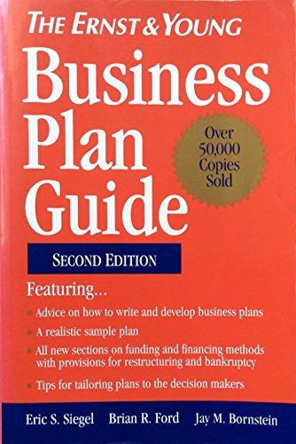 The Ernst & Young Business Plan Guide, 2nd, Second Edition
