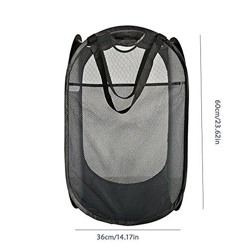 Starter Faltbarer Pop-Up-Wäschekorb-Korb Mit Verstärkten Tragegriffen Für Wäscherei Sorter Storage
