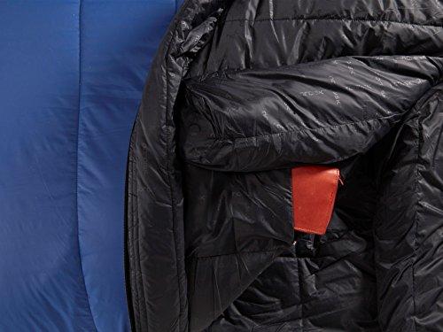 Nordisk Gorm -2° Sleeping Bag L limoges blue/black 2016 Mumienschlafsack - 4