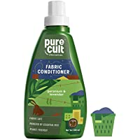 PureCult Fabric Conditioner Infused with Geranium & Lavender Essential Oil -Eco Friendly and Biodegradable-Kids and Pet…