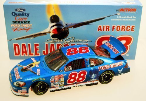 nascar-1-18-action-2000-dale-jarrett-88-quality-care-armed-air-force-ford-taurus
