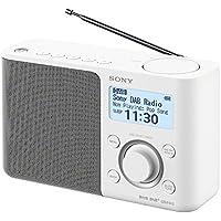 Sony XDR-S61D tragbares digitales Radio (UKW/DAB/DAB+, Senderspeicher, RDS-Funktion, Wecker, Batterie- und Netzbetrieb)