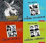 Marc-Uwe Kling 4 x als Hörbuch 16 CDs im Set (1. Die Känguru-Chroniken + 2. Das Känguru-Manifest + 3. Die Känguru-Offenbarung + 4. Die Känguru-Apokryphen)