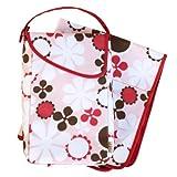 JJ Cole Collections PWPB - Wickeltäschchen/ kleine Wickeltasche für Unterwegs - rosa Blüte (Diapers & Wipes Pod - pink blossom)