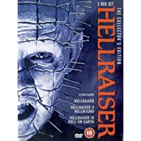Hellraiser 1, 2 and 3 Collectors Edition Pack