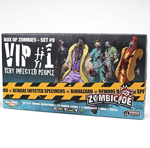 Cool Mini or Not 901829 - Zombicide - VIP, Brettspiele