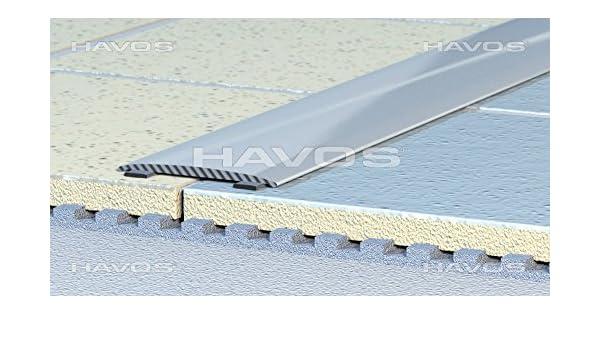 Profil/é mako profil/é de finition ultra plat 38 x 2 mm-autocollant c aluminium anodis/é champagne 2005