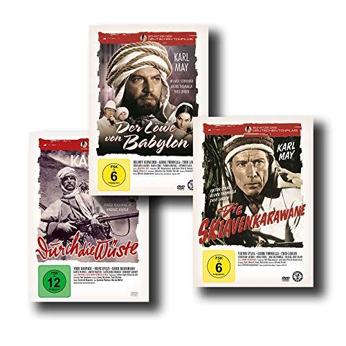Die besten Karl May Abenteuerfilme - Der Löwe von Babylon / Die Sklavenkarawane / Durch die Wüste [3-DVD-Set]