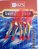 5 Packets of Lumi Exciter mackerel feathers