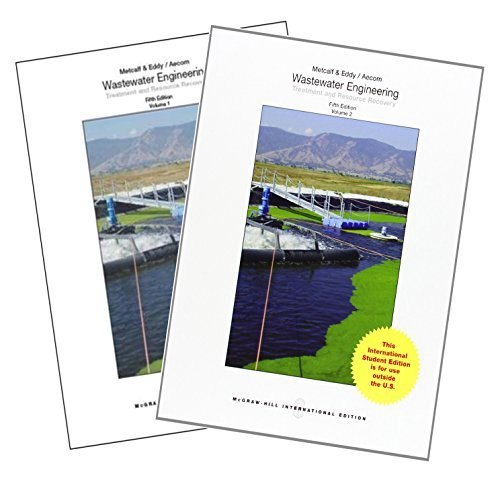 Wastewater Engineering: Treatment and Resource Recovery(2 Volume Set) by Inc., N/A Metcalf & Eddy (2013-12-01)