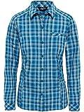 THE NORTH FACE L/S Zion Shirt Women Größe S Blue Coral Plaid