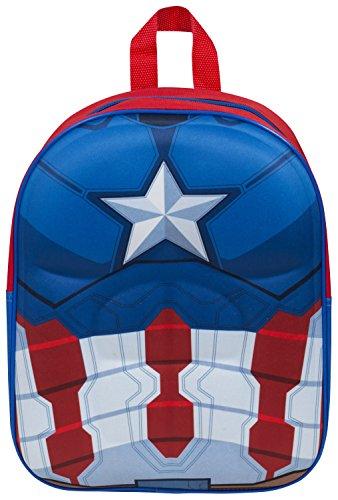 Sambro cap3–8114 Captain America Eva Sac à dos Junior