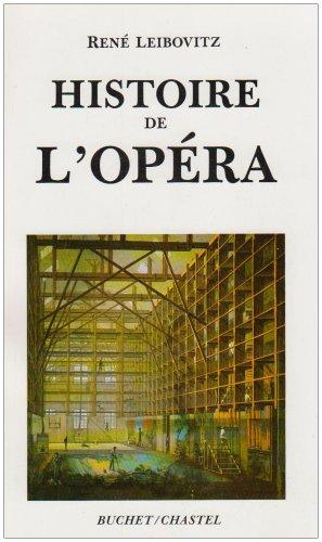 HISTOIRE DE L'OPERA