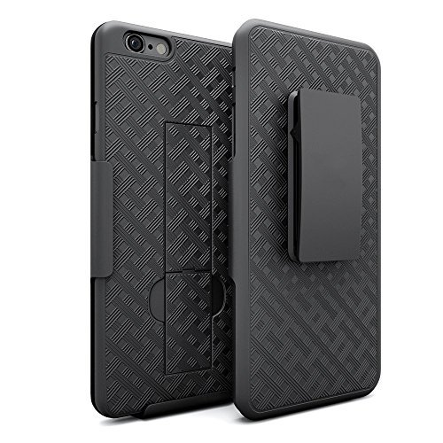 microseven Fall, iPhone 6/6S Black Wave Holster