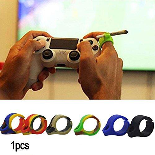 wiederverwendbar Ring Finger Hand Rack Silikon Zigarettenspitze für normale Rauchen Raucher–passend für jeden Finger Größe–Tolles Geschenk