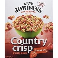 Jordans Cereales con Fresa - 400 gr - [Pack de 3]