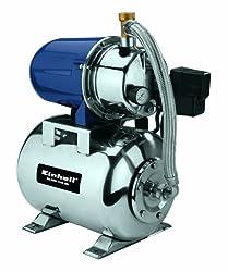 Einhell Hauswasserwerk BG-WW 1140 NN (1100W, 4,3 bar Druck, 4.000 l/h Förderleistund, Edelstahl-Pumpengehäuse, integrierter Druckschalter, 20 Liter Behälter)