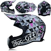 WLBRIGHT Casco de Motocross Fox Racing Cara Completa Casco Adulto  Motocicleta Fuera de Carretera Casco Cuatro c7781925d1c