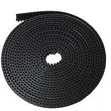 Tenflyer 5 Metros 6mm GT2 2mm Pitch ancha correa de distribución Dedicado para 3D Impresora CNC