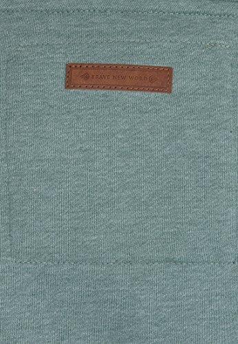 Naketano Male Zipped Jacket Birol IX Green Melange