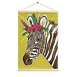 HHY-J Pinturas Decorativas Wall Scroll, Pinturas al óleo Imprimir Pintura Colgar Pintura,B,50 * 70cm