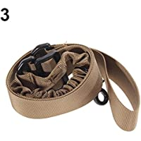 geshiglobal 1 Single Point Outdoor verstellbar Bungee Rifle Sling Strap System Schnalle Seil