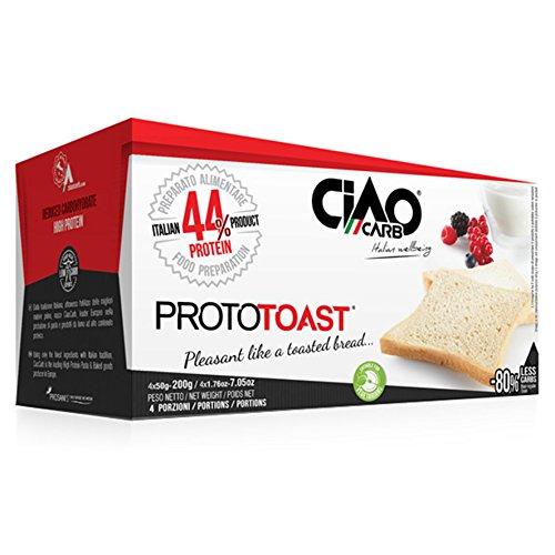 Ciaocarb iaf00078140 prototoast stage 1, 4 confezioni da 50 g