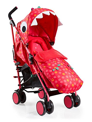 Cosatto Supa 2018 Baby Stroller, Suitable from Birth to 25 kg, Miss Dinomite Best Price and Cheapest