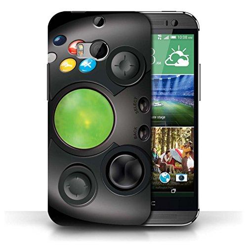 Coque de Stuff4 / Coque pour HTC One/1 M8 / Xbox Design / Console (jeux vidéo) Collection