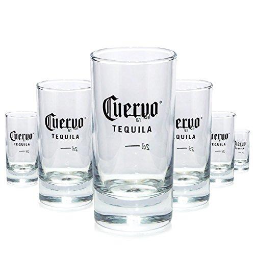 6-x-jose-cuervo-2-cl-4-cl-shot-verre-marque-verre-verre-schnapps