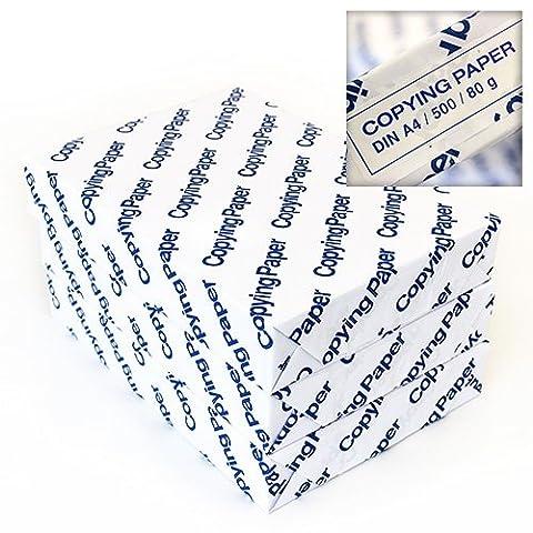 1500 Blatt DIN A4 Kopierpapier 80 g / m² Ausführung Copying Paper Blue