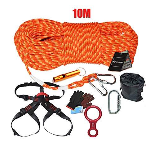 Kletterseil-Set, Speed   Drop-Paket Notfall-Rettungsseil 10 M Länge Für Den Außenbereich Fire Escape