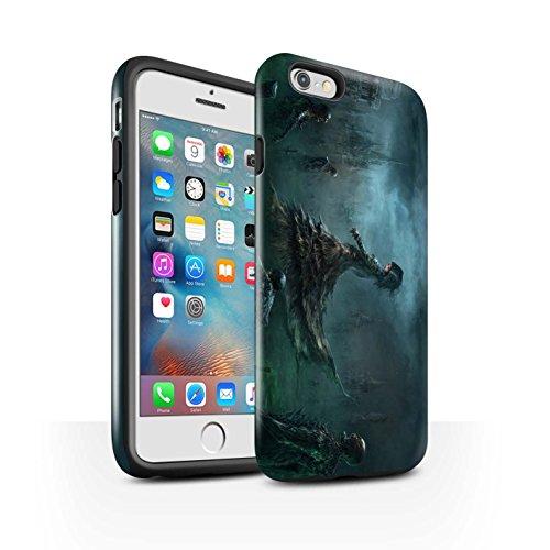 Offiziell Chris Cold Hülle / Glanz Harten Stoßfest Case für Apple iPhone 6+/Plus 5.5 / Hades/Phantom Muster / Unterwelt Kollektion Banshee/Hexe-Königin