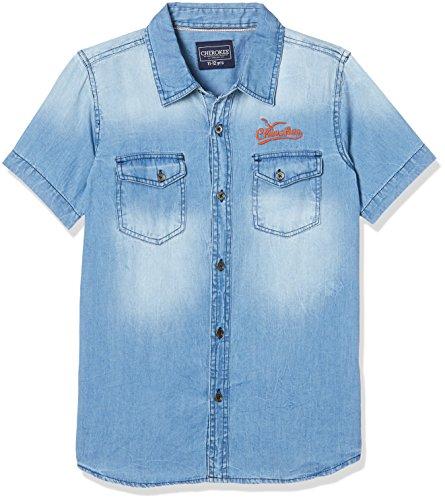 a35940e5c Cherokee by Unlimited Boys  Shirt (269917680 LT-Blue 13Y HS) ...