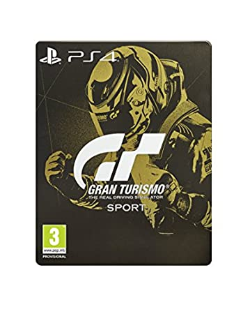 Gran Turismo: Sport Steelbook Edition (Exclusive to Amazon.co.uk) (PS4)