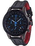 Detomaso Herren-Armbanduhr Firenze Chronograph Quarz Edelstahl DT1045-F