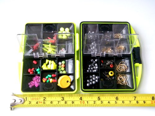 THKFISH Fishing Tackle Box Utility Box Haken Wirbels Angel-Zubehör-Box - 6