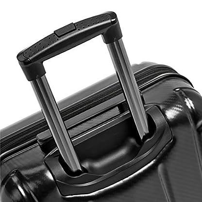 AmazonBasics-Hochwertiger-Hartschalen-Trolley-Oxford-mit-Schwenkrollen-78-cm-Schwarz