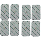 Large Tens Pads With Stud Tens Electrodes For Beurer Sanitas Tens Machines Set of 8 by